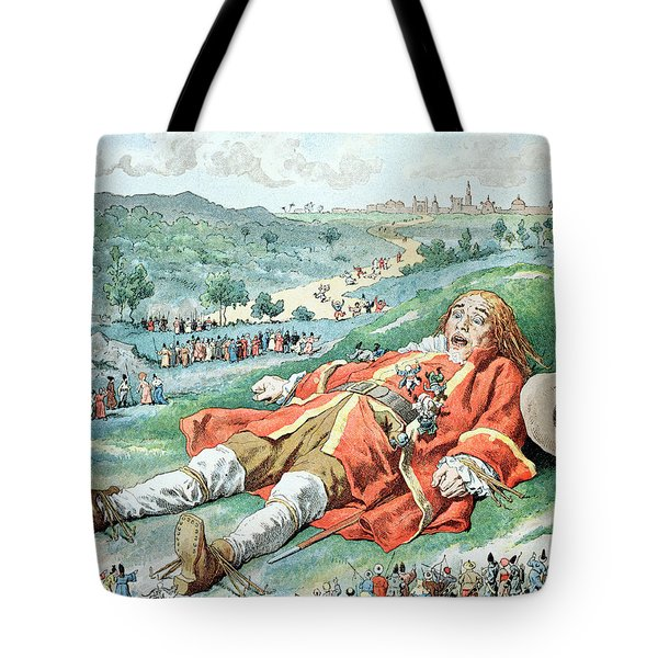 Scene From Gullivers Travels Tote Bag by Frederic Lix