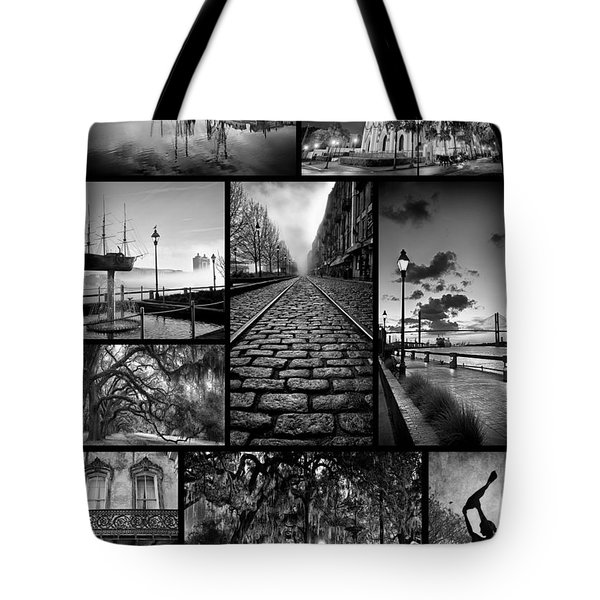 Scenes From Savannah Tote Bag by Renee Sullivan