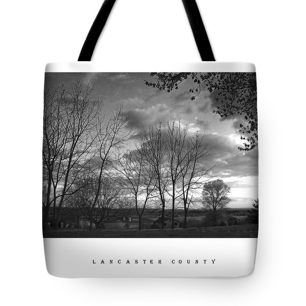 Scenic Lancaster County Tote Bag