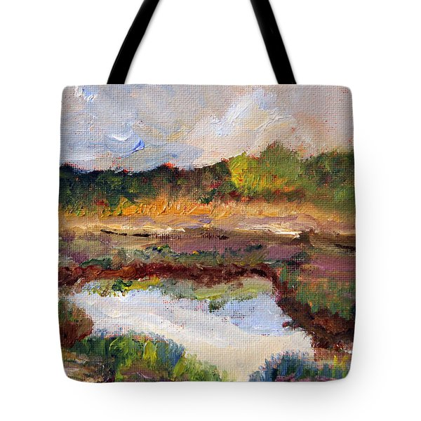 Scenic Marsh View From 6a Tote Bag