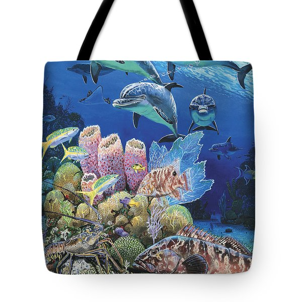 Scenic Route Re006 Tote Bag by Carey Chen