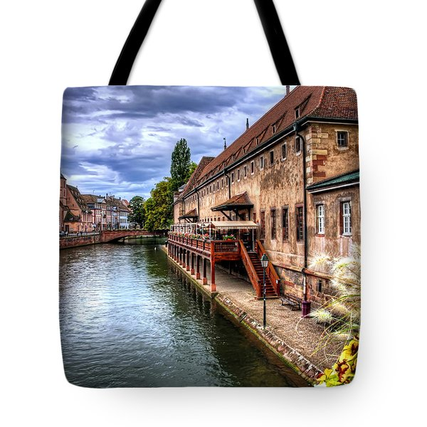 Scenic Strasbourg  Tote Bag by Carol Japp