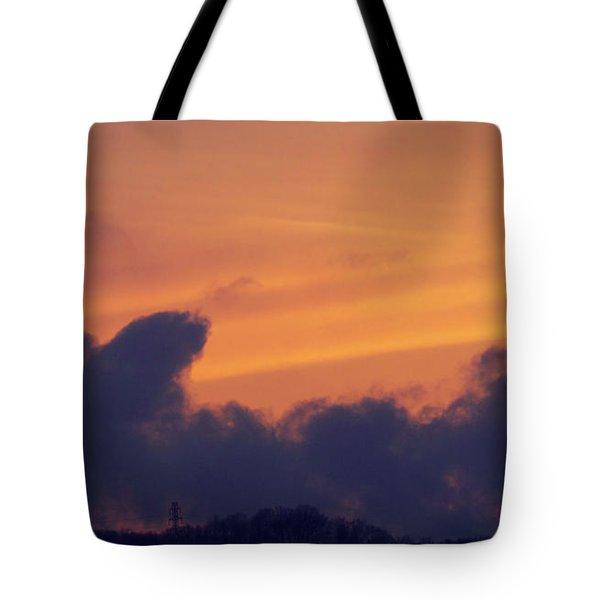 Scenic Sunset Tote Bag