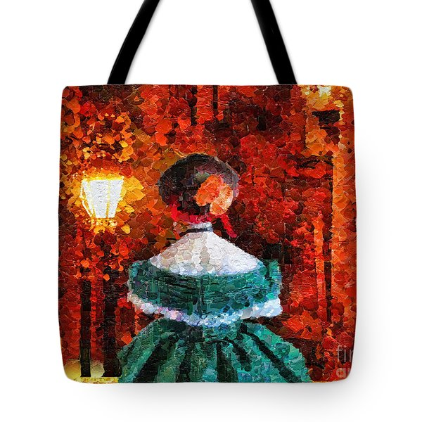 Scent Of A Woman Tote Bag by Mo T