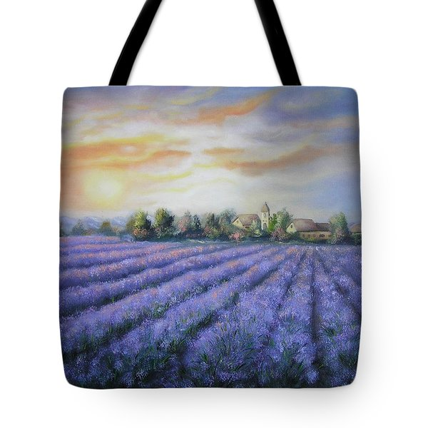Scented Field Tote Bag