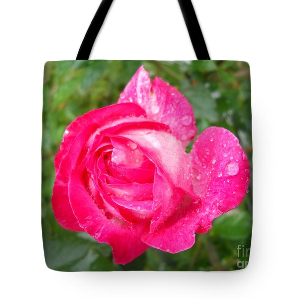 Tote Bag featuring the photograph Scented Rose by Ramona Matei