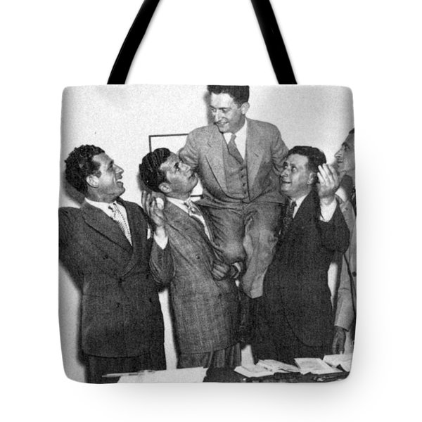 Schechter Case 1935 Tote Bag by Granger