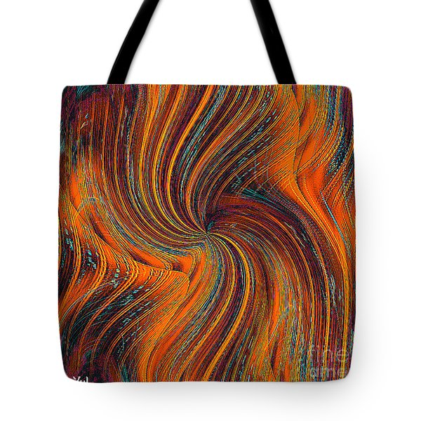 Tote Bag featuring the painting Schiller's Dream Of You by Yul Olaivar