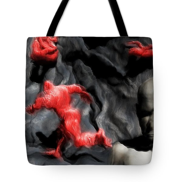 Schizophrenic Lucidity Tote Bag