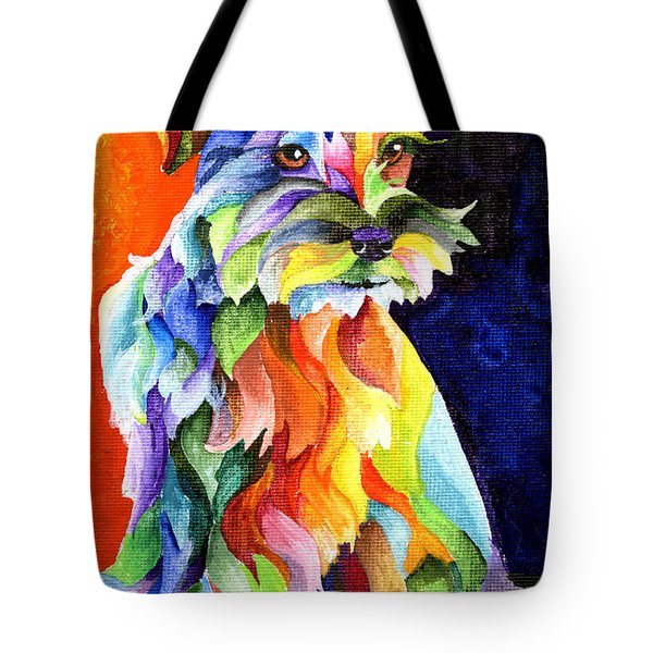 Schnauzer Too Tote Bag