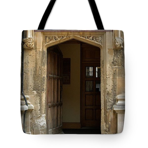 Schola Metaphysicae Tote Bag by Joseph Yarbrough