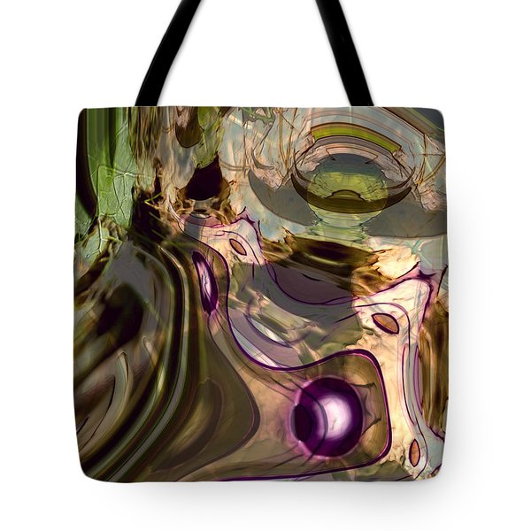Tote Bag featuring the digital art Sci-fi Fury by Richard Thomas