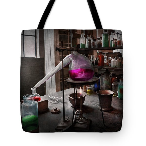 Science - Chemist - Chemistry For Medicine  Tote Bag by Mike Savad