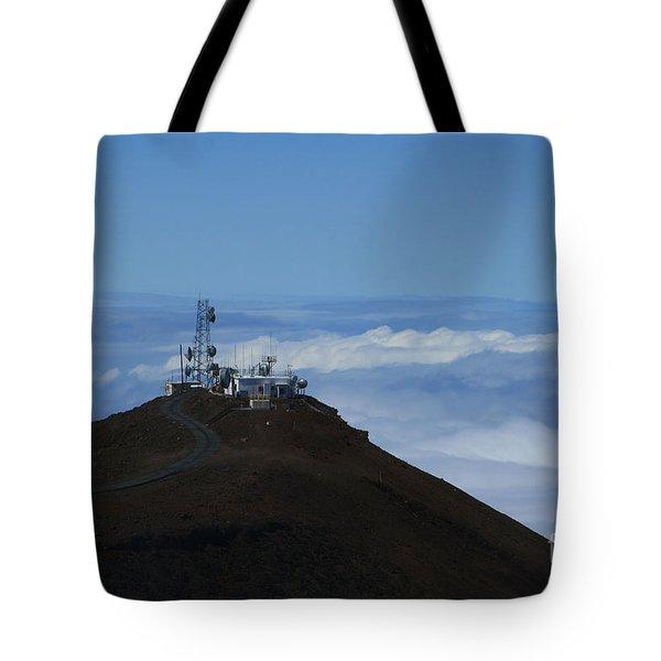Science City Haleakala Tote Bag by Sharon Mau