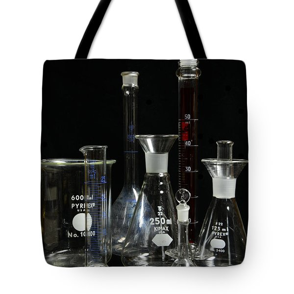 Science Lab Chemistry Tote Bag by Paul Ward