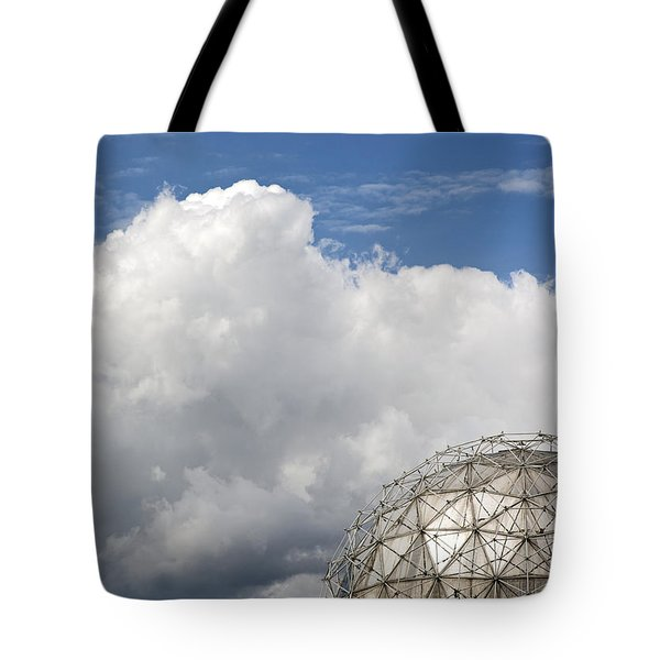 Science World In The Clouds Tote Bag by Michele Wright
