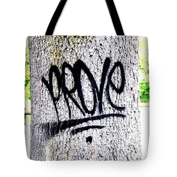 Scientific Graffiti  Tote Bag