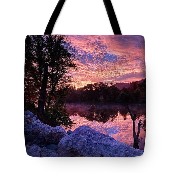 Scioto Sunrise Tote Bag