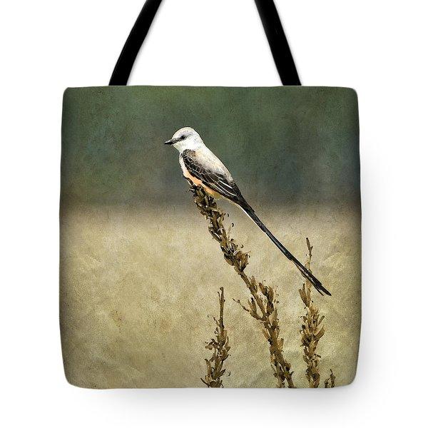 Scissortailed-flycatcher Tote Bag by Betty LaRue