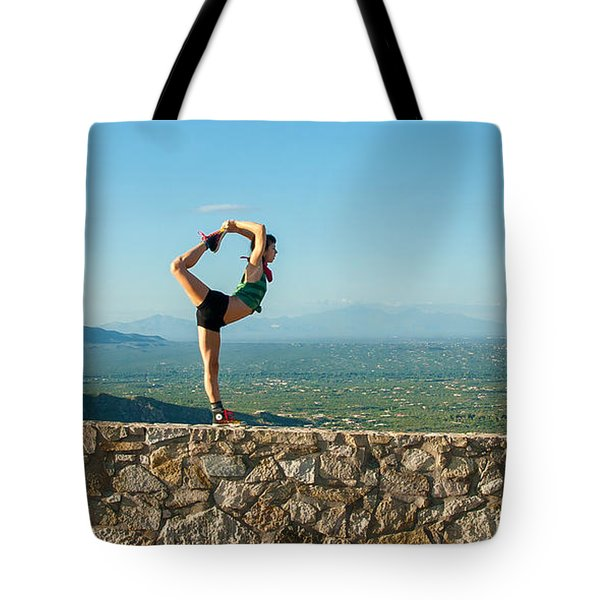 Scorpion Girl At Babad Do'ag Tote Bag