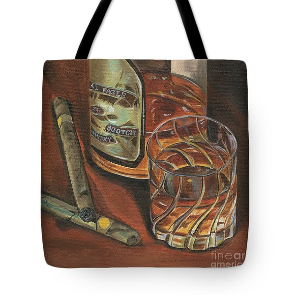 Scotch And Cigars 3 Tote Bag