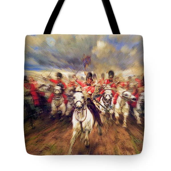 Scotland Forever During The Napoleonic Wars Tote Bag
