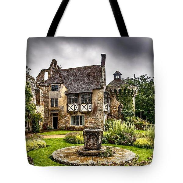 Scotney Castle 4 Tote Bag