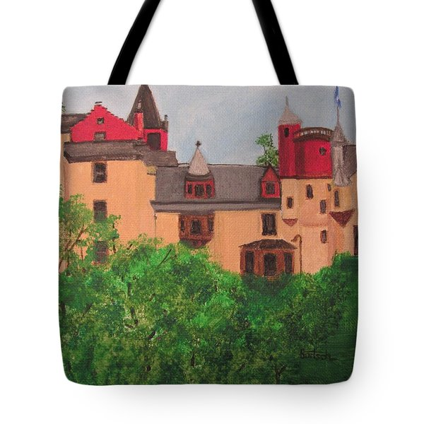 Scottish Castle Tote Bag