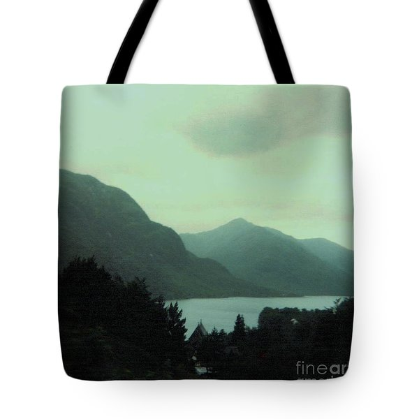 Scottish Mountains Over Loch Lomond Tote Bag