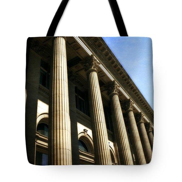 Scottish Rite Building Spokane Washington Tote Bag