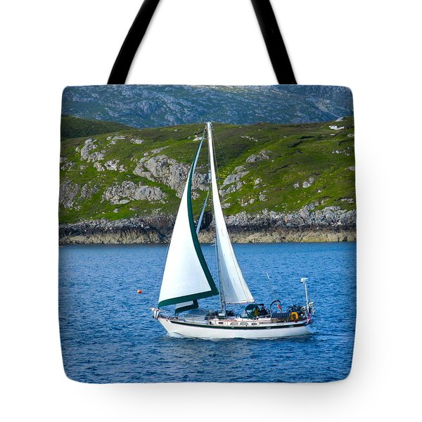 Scottish Sails Tote Bag