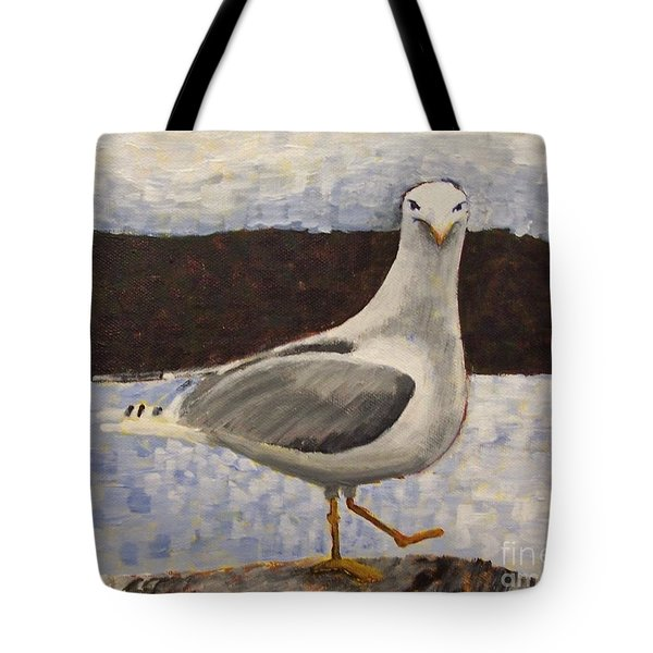 Scottish Seagull Tote Bag