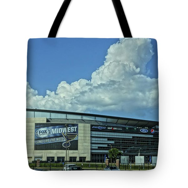 Scottrade Center Home Of The St Louis Blues Tote Bag