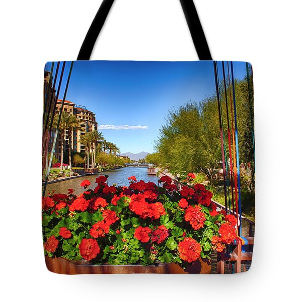 Scottsdale Waterfront Tote Bag