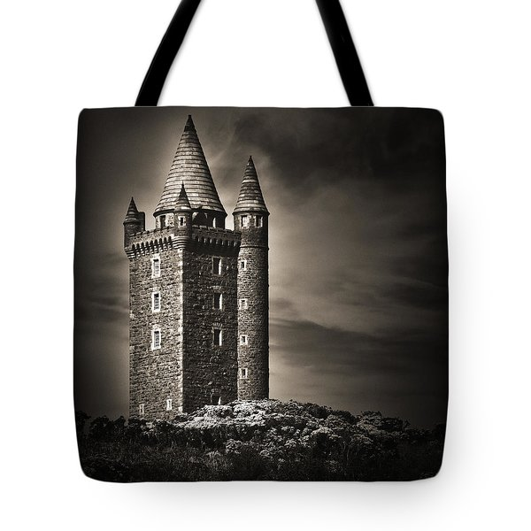 Tote Bag featuring the photograph Scrabo Tower Newtownards County Down by Jane McIlroy