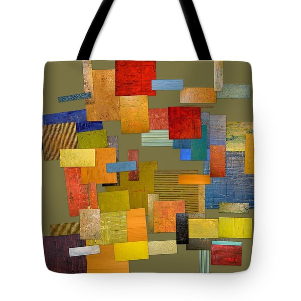Scrambled Eggs Ll Tote Bag by Michelle Calkins