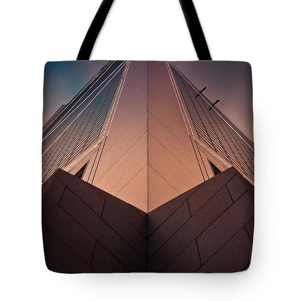 Scraping The Sky #02 Tote Bag