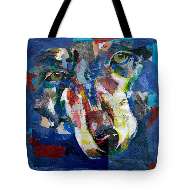 Scraps Of Survival Tote Bag by Lovejoy Creations