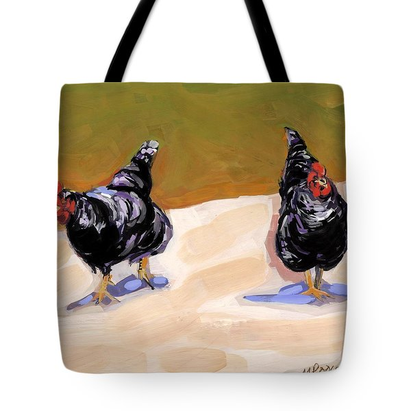Scratch Tote Bag by Molly Poole
