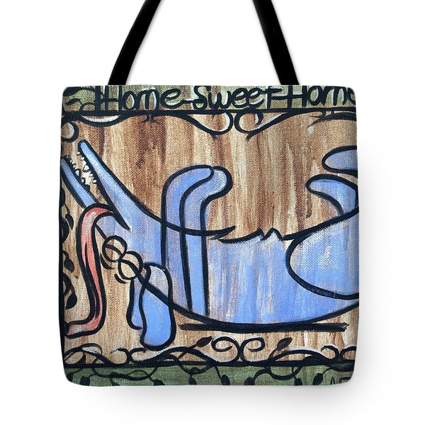 Scratch My Belly Tote Bag by Anthony Falbo