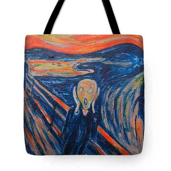 Scream Tote Bag by Diana Bursztein