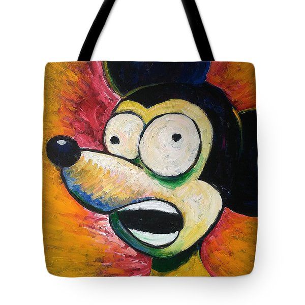Surrealism Scream Tote Bag