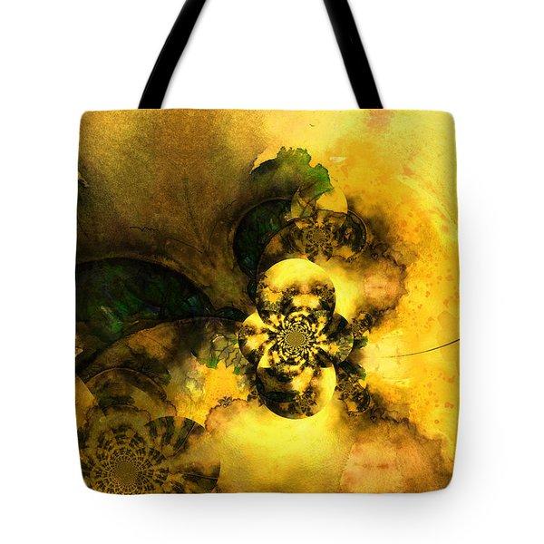 Scream Of Nature Tote Bag by Miki De Goodaboom
