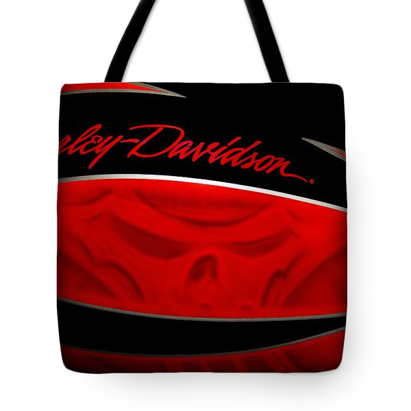 Harley Boo Tote Bag by Patti Deters