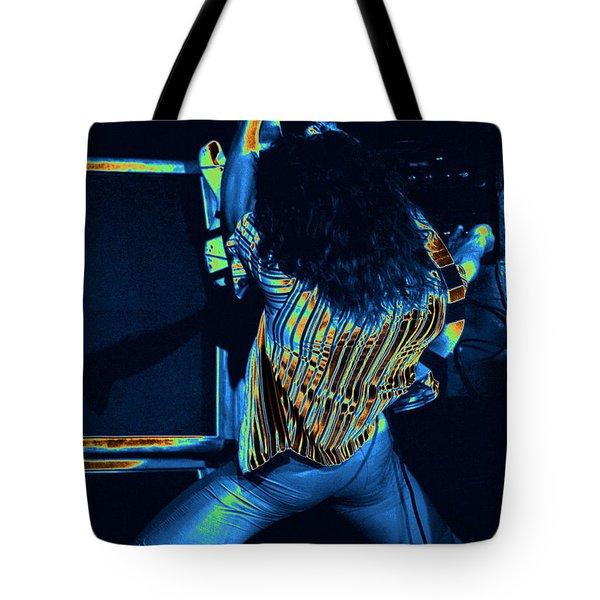 Screaming Guitar Tote Bag by Ben Upham