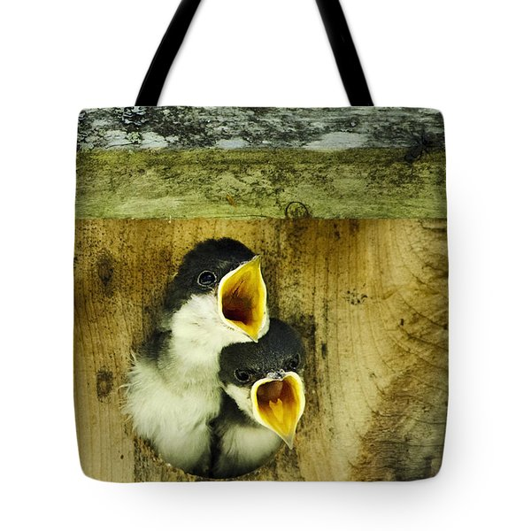 Screaming Hungry Tote Bag