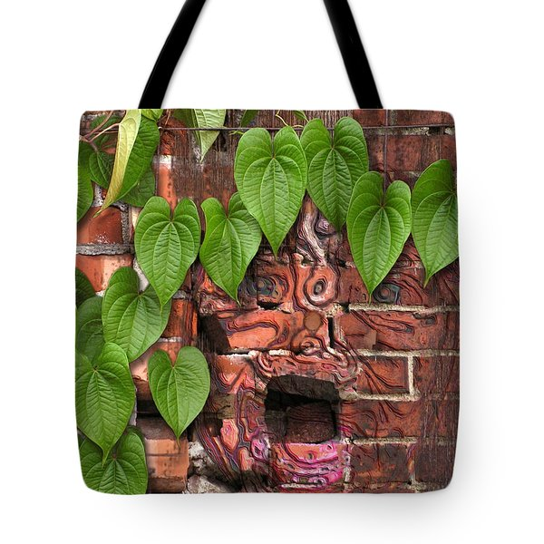Screaming Wall Tote Bag