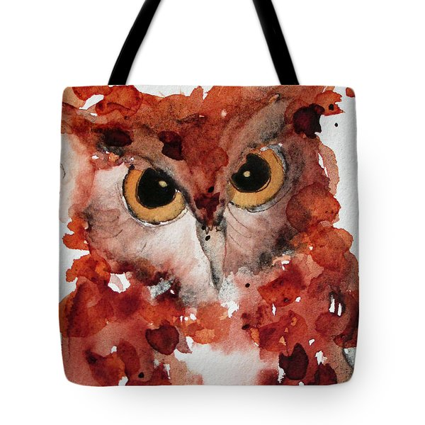 Screech Tote Bag by Dawn Derman