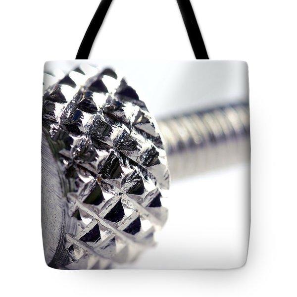 Screw Tote Bag by Michal Bednarek
