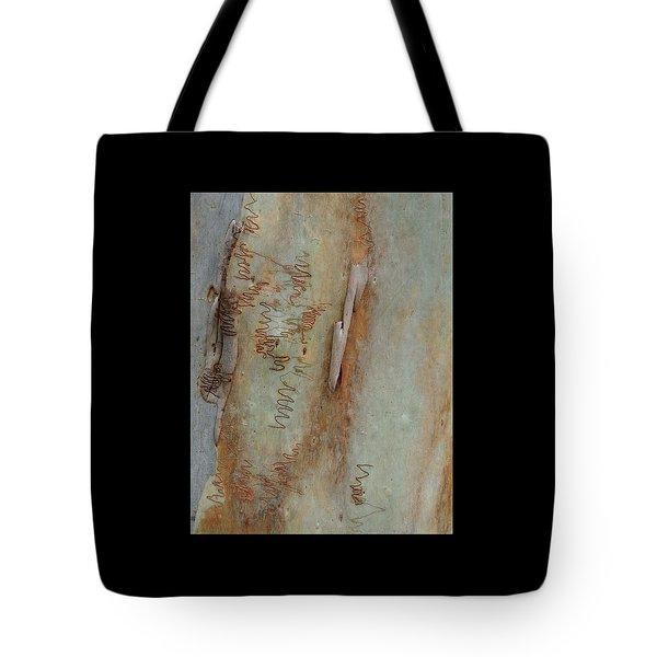 Scribbled Abstract Tote Bag